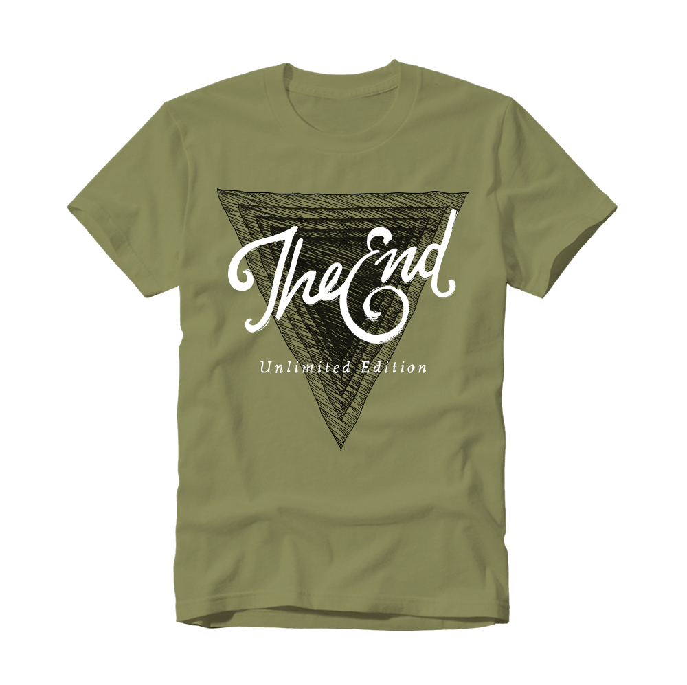 t-shirt_design_padova_the_end_green